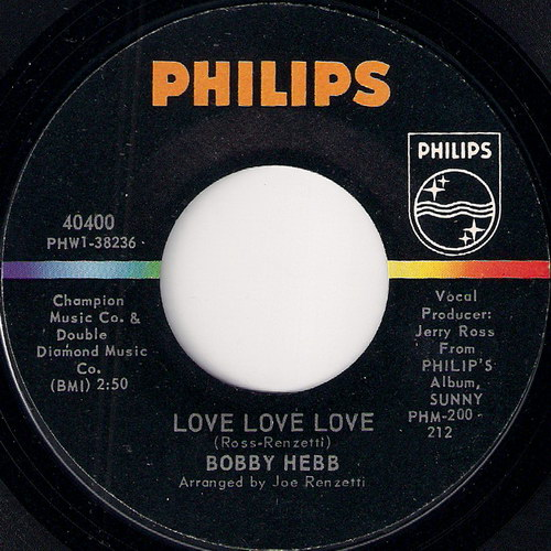 Bobby Hebb Love Love Love A Satisfied Mind Phillips