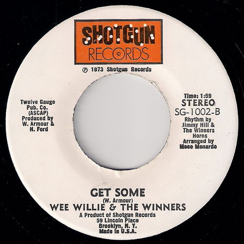 Wee Willie Winners I Found The Funky Man Teenage Love Affair
