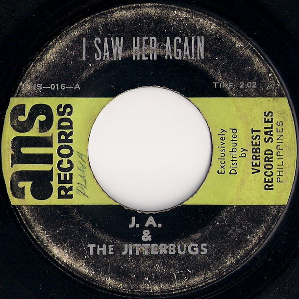 J.A. & The Jitterbugs - I Saw Her Again (ANS Records)