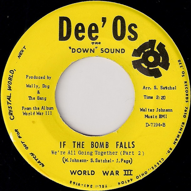 World War III - If The Bomb Falls (We're All Going Together) Part 2 [Dee'Os]